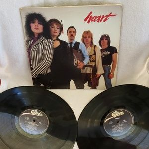 Vintage Record Vinyl LP Heart Greatest Hits